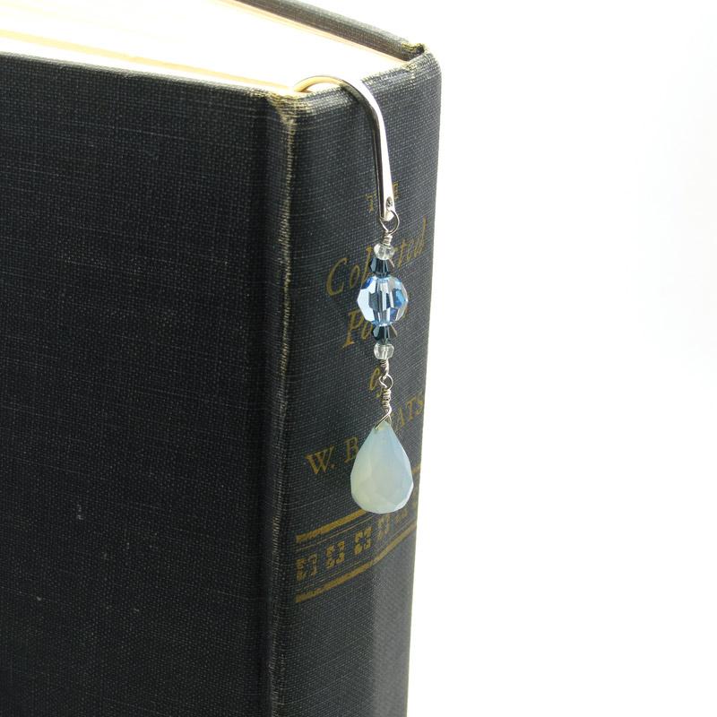 Gemstone Sterling Bookmark