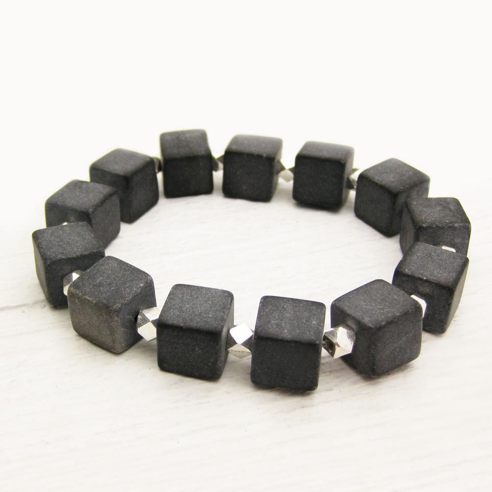 Blackstone Geometric Statement Bracele