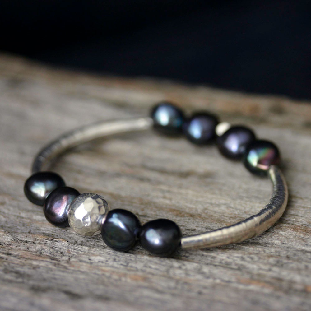 Pearl Hill Tribe Bangle Bracelet