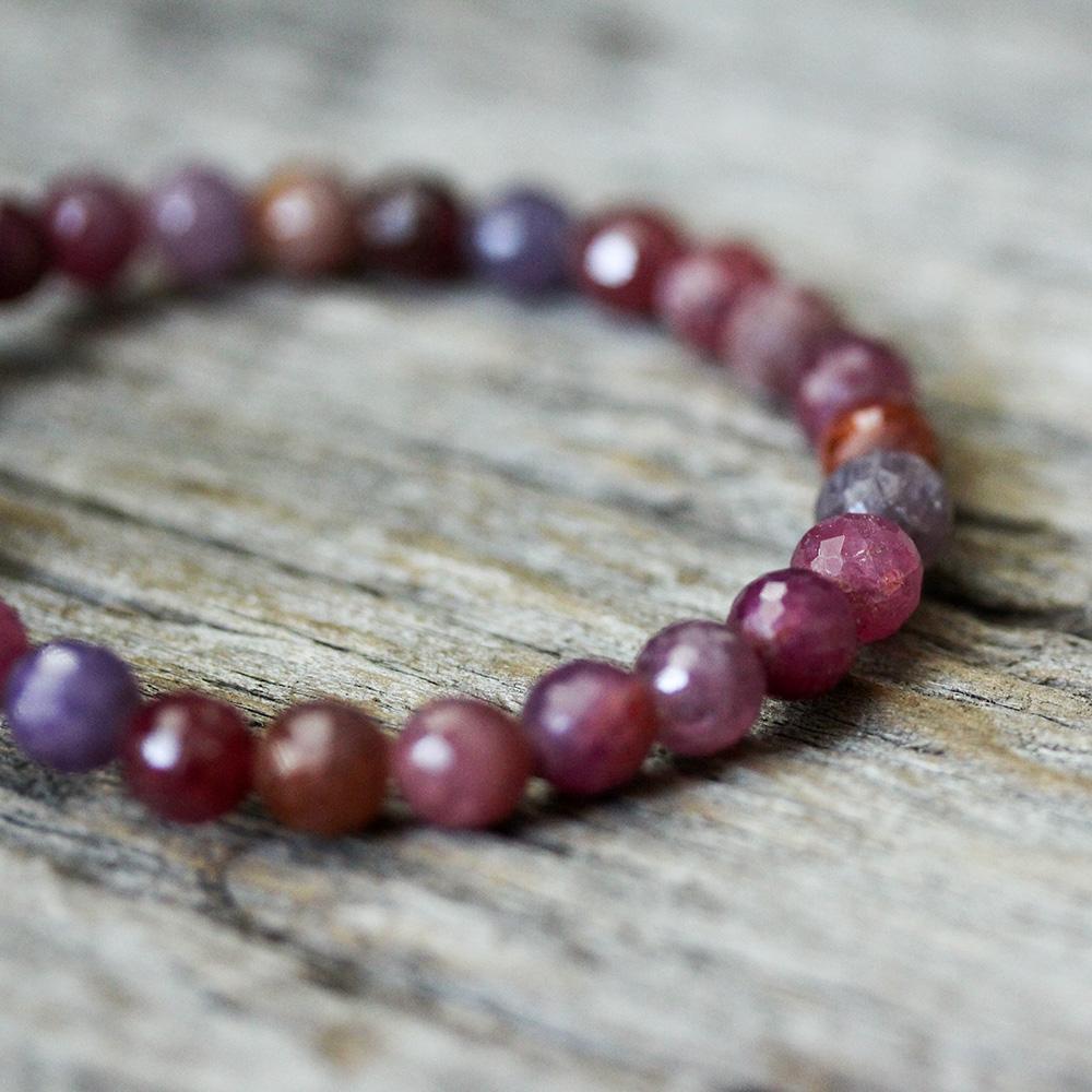 Sapphire, Ruby & Diamond Statement Bracelet