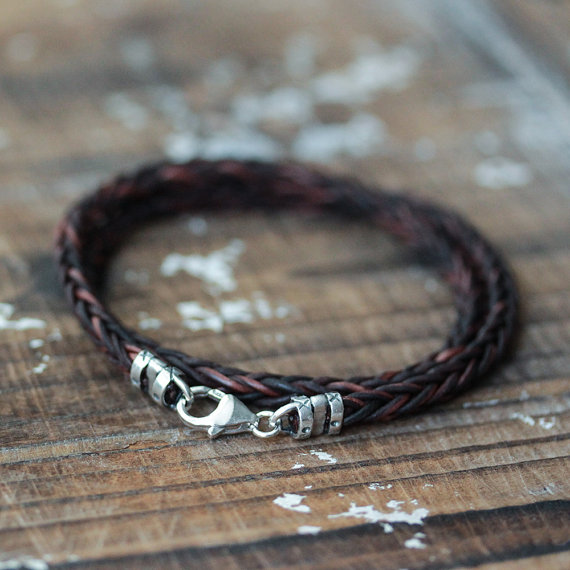 Braided Leather Unisex Wrap Bracelet